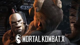 Mortal Kombat X -  Goro Gameplay Trailer 1080p