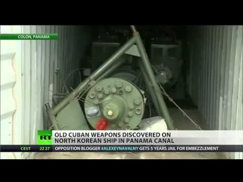 Cuba caught smuggling 'obsolete' weapons to N. Korea