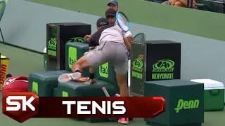 Najsmešniji Teniski Momenti iz 2018.   Smešna Strana Sporta