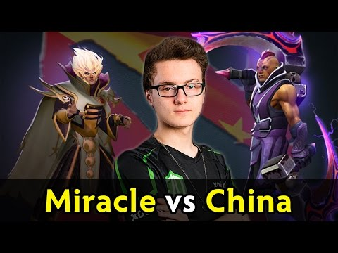 Miracle vs China — 9200 MMR vs Chinese pubs