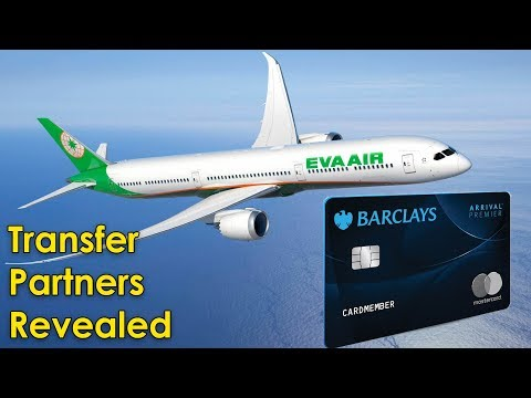 New BARCLAYS Card TRANSFER PARTNERS REVEALED!