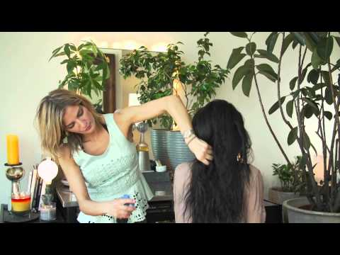 How to Style a Natural Puff Ponytail : Hair Care & Styling