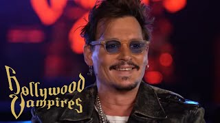 "Hollywood Vampires talk about ""Rise"" - Album OUT NOW - Johnny Depp, Alice Cooper & Joe Perry"