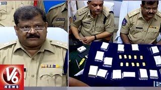 Secunderabad Railway Police Arrested Two Persons & Seized 1KG Gold & 30KG Silver | V6 News
