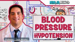 Blood Pressure Regulation | Hypotension | Part 1