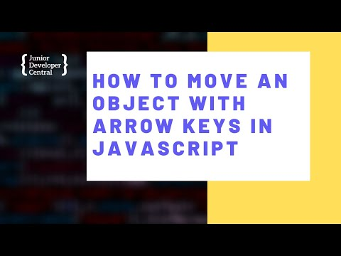 How To Move An Object With Arrow Keys using JavaScript thumbnail