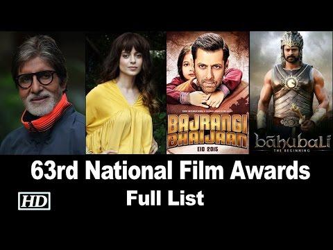 63rd National Film Awards | Full List | Big B And Kangana Ranaut Named Best Actors
