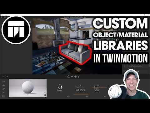 Creating CUSTOM ASSET AND MATERIAL LIBRARIES in Twinmotion