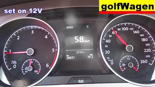 vW Golf 7 How to deactivate start/stop on VW Golf VII