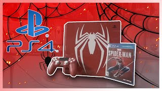 *UNBOXING* | PS4 Pro 1TB Limited Edition Console - Marvel's Spiderman Bundle