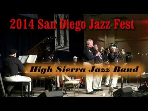 "2014 San Diego Jazz Fest – High Sierra Jazz Band playing ""Blues In The Morning"""