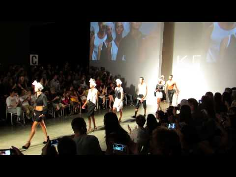 Kini Zamora at Honolulu Fashion Week