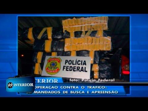 Megaoperação na região de Jales prende mais de 200 kg de drogas, armas e dinheiro