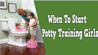 When To Start Potty Training Girls, Best Way To Potty Train A Boy, Potty Training Schedule
