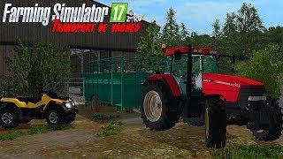 TRANSPORT DE VACHES AVEC CETTE MAGNIFIQUE BÉTAILLÈRE ! 😍 | Farming Simulator 2017 🚜
