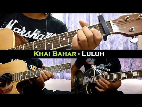 Khai Bahar - Luluh (Instrumental/Chord/Guitar Cover)