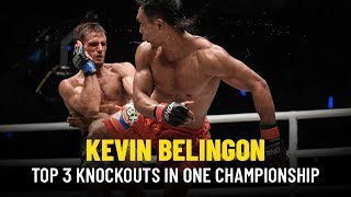 ONE Highlights | Kevin Belingon's Top 3 KOs