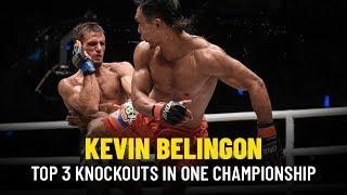 ONE Highlights | Kevin Belingon's Top 3 KOs