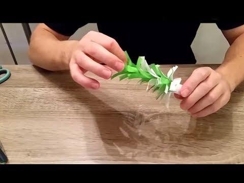 Palme Aus Papier Basteln Mit Papier Nr 1 Youtube