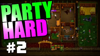 "PARTY HARD GAMEPLAY #2 ""BIKER PARTY LEVEL & CASINO PARTY LEVEL!"""