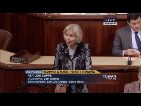 U.S. Rep. Lois Capps: Raechel and Jacqueline Houck Safe Rental Car Act. Dec.3, 205