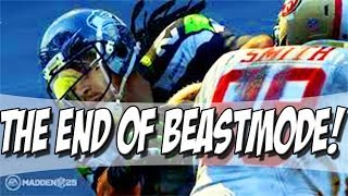 Madden 25 ultimate team - the beast slayer! - end of marshawn lynch! - mut 25