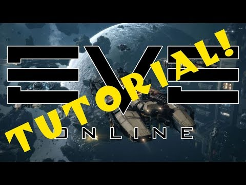 Eve Online: Tutorial for Complete Beginners! - Ep 3: Industry! Mining! Crafting!