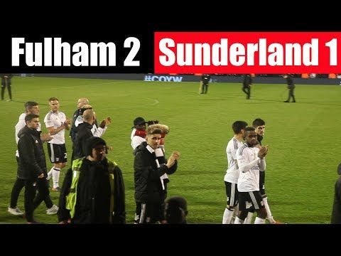 Fulham 2 Sunderland 1 | down to the wire | EFL Sky Bet Championship