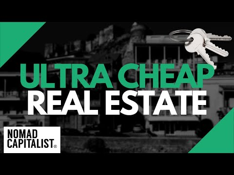 Ultra Cheap Property Markets Where Real Estate Costs Less Than $1,000/meter