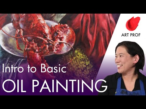 Intro to Basic Oil Painting Techniques, Part 2 of 2