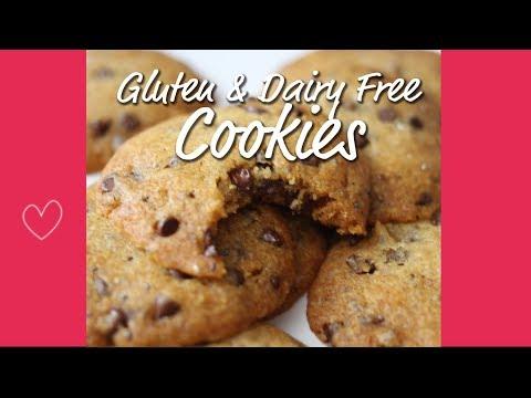 Dairy Free & Gluten Free  Chocolate Chip Cookies |  Michelle Mills