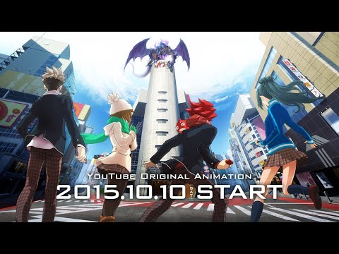 [Ver.2] Anime Official Trailer | Monster Strike the Animation Official (English sub) [Full HD]
