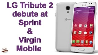 Lg Tribute 2 Debuts At Sprint & Virgin Mobile
