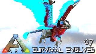 ARK: SURVIVAL EVOLVED - NEW TEK GRIFFIN TAMING !!! E07 (MOD ANNUNAKI PROMETHEUS RAGNAROK)
