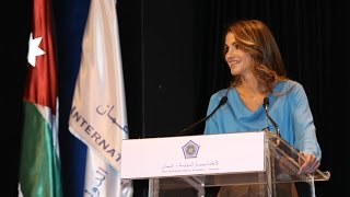 Queen Rania Speaks at IAA Graduation Ceremony 2013