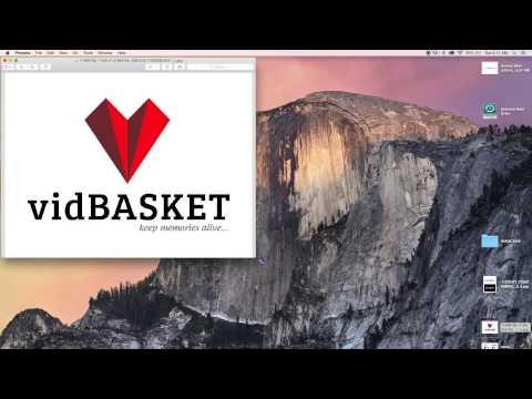 Logo Critique #1 - Part 1 Of 2 Online Logo VidBasket