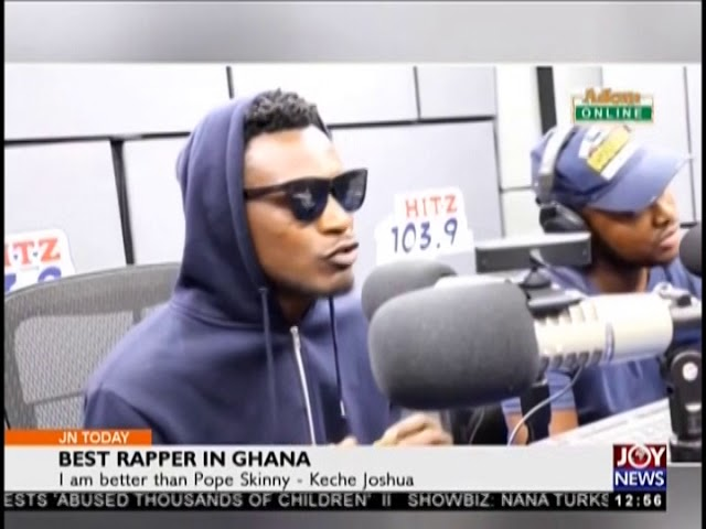 Best rapper in Ghana - Joy Entertainment Today (15-8-18)
