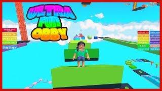 ROBLOX - ULTRA FUN OBBY! (Part 2)