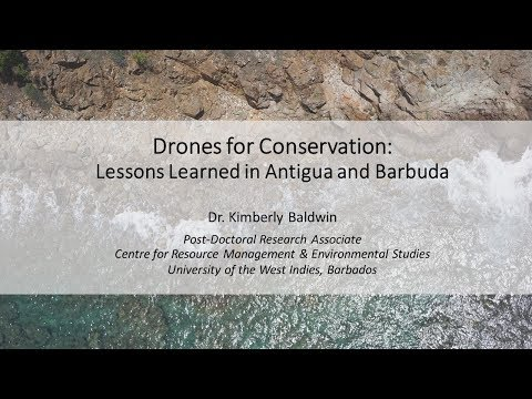 Drones for Conservation: Lessons Learned in Antigua and Barbuda