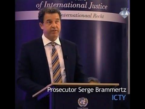 ICTY's 20th Anniversary - Address of Prosecutor Serge Brammertz
