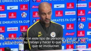 Pep Guardiola habla sobre retirada de Xabi Alonso en rueda de prensa