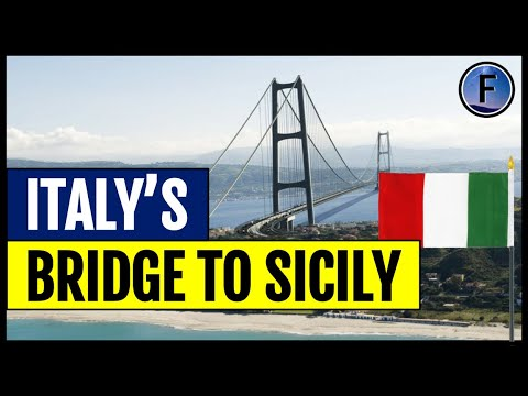 Italy's Proposal for a Bridge to Sicily