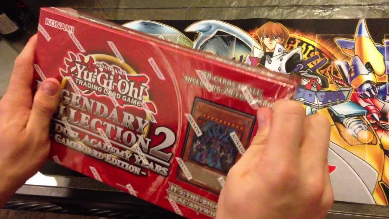 YUGIOH LEGENDARY COLLECTION 2 BOX best Christmas gift
