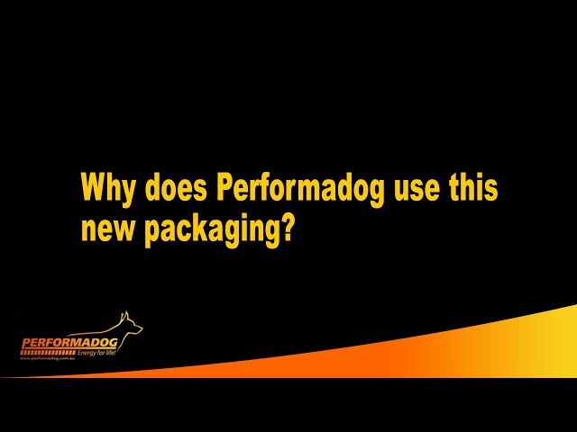 Why does Performadog & iPurr use this new packaging?