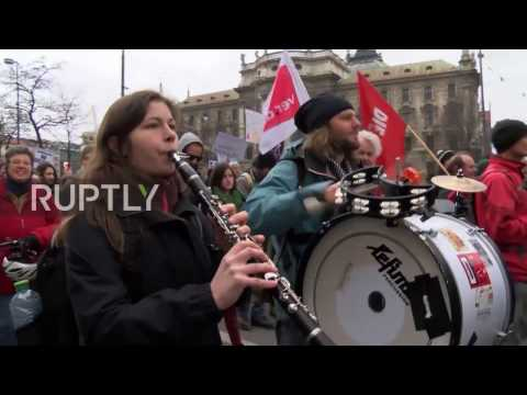 Germany: Anti-NATO leftists rally against MSC in Munich