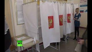 Крым впервые выбирает президента России