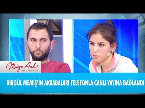 Birgül Memiş'in akrabaları canlı yayına bağlandı  - Müge Anlı ile Tatlı Sert 4 Aralık 2018