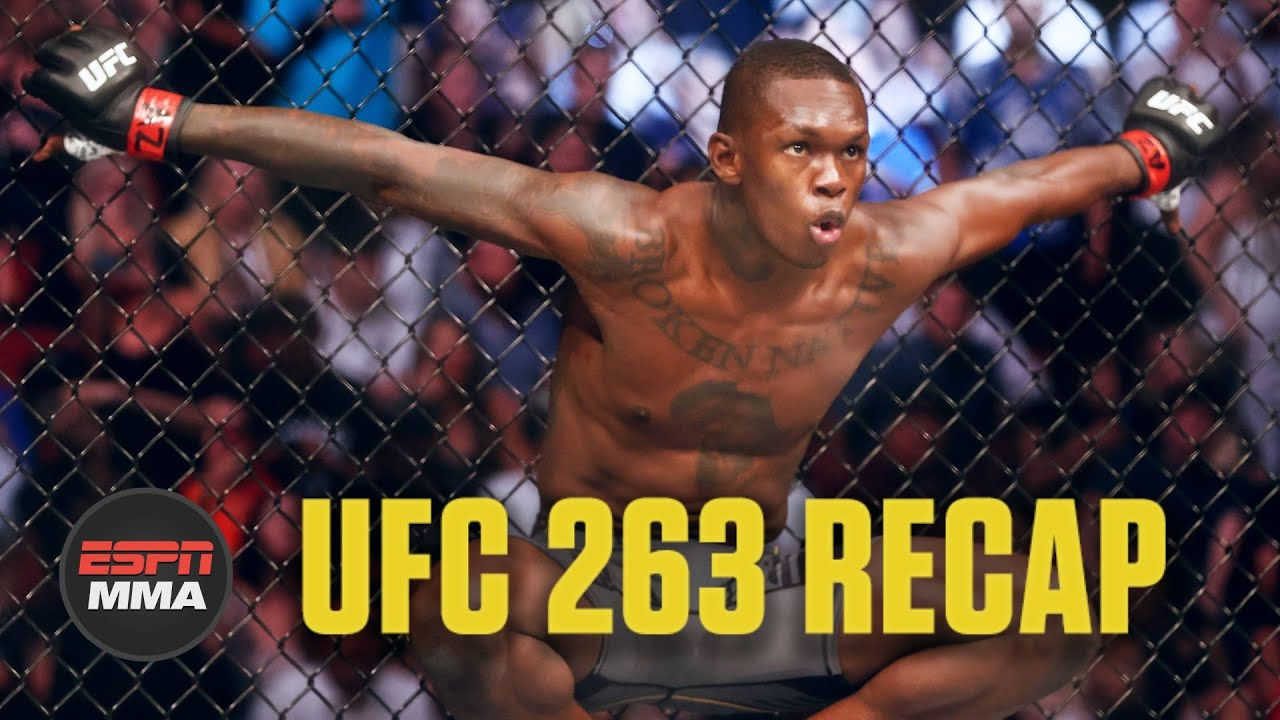 UFC 263 Recap: Israel Adesanya beats Marvin Vettori, Moreno subs Figueiredo | ESPN MMA