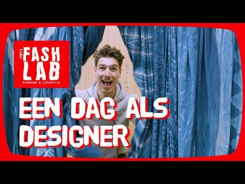 DIY Spijkerbroek designen en sweaters ontwerpen met Milan Carvalho! – FASHLAB #7