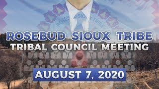 RST Tribal Council Meeting (08/07/2020)